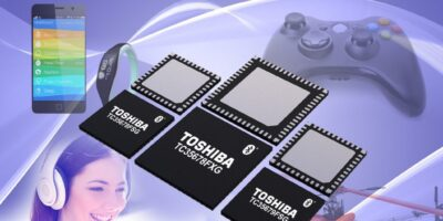 Rutronik supplies Bluetooth Smart ICs with low current performance from Toshiba