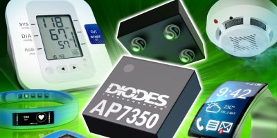 Low current LDO from Diodes occupies less space and offers one per cent accuracy