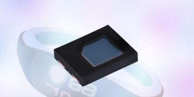 High speed PIN photodiode enables slim sensor, wearable designs
