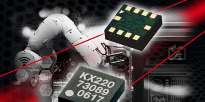 Analogue accelerometers sense vibration for industrial and commercial markets
