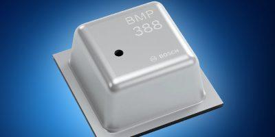 Mouser stocks Bosch's low-power digital pressure sensor for drones and AR/VR