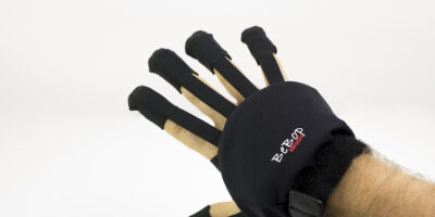 Gloves with sensors and haptics enhance hand tracking