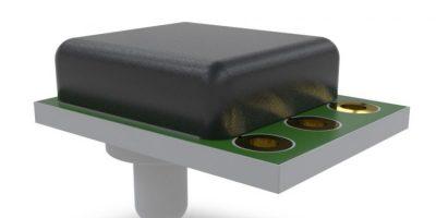 Pressure sensor is sensitive for extended temperatures