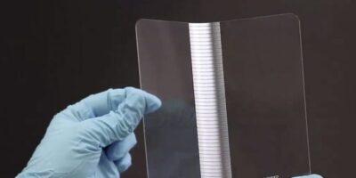 LPKF demonstrates fatigue-free folding glass displays