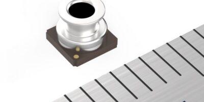 Waterproof digital sensor measures air and water pressure