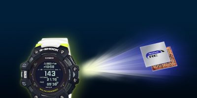 G-Shock uses Renesas RE microcontroller for heart rate and GPS