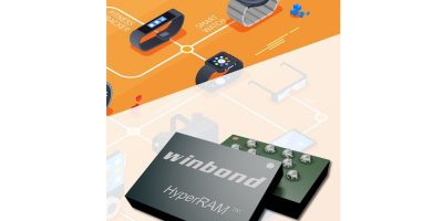 Winbond introduces HyperRAM WLCSP to reduce form factor