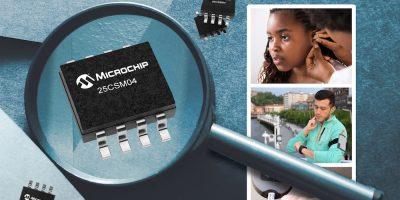 Microchip says 25CSM0 is its highest-density EEPRROM yet