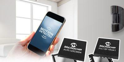 MCUs integrate peripherals for sensor-based IoT applications