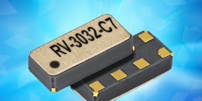 Temperature compensated RTC has I2C interface