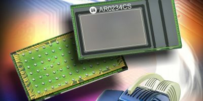 Image sensor minimises distortion in machine vision and mixed reality applications