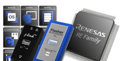Renesas RF microcontrollers are supported by Segger