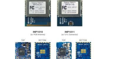 Miniature wireless comms modules address low power edge devices