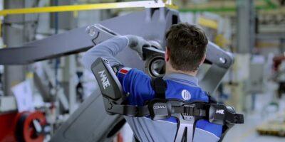Editors Blog – Exoskeletons – taking the strain
